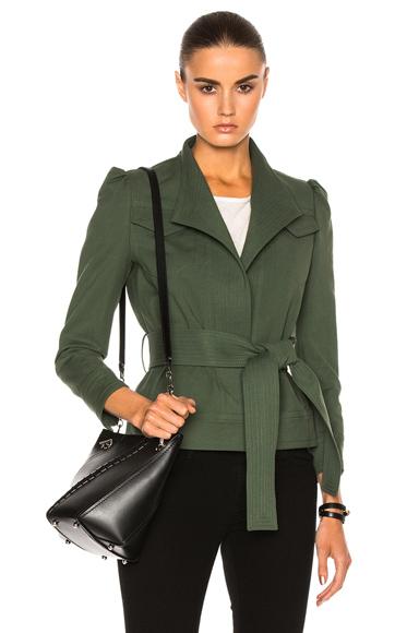 Belted Slim Jacket