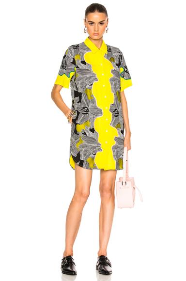 Short Sleeve Surf Floral Dress