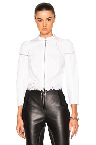 Poplin Victoriana Shirt Jacket