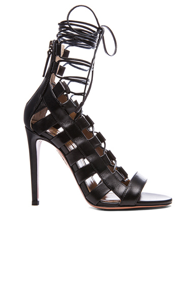 Amazon Leather Lace Up Sandals