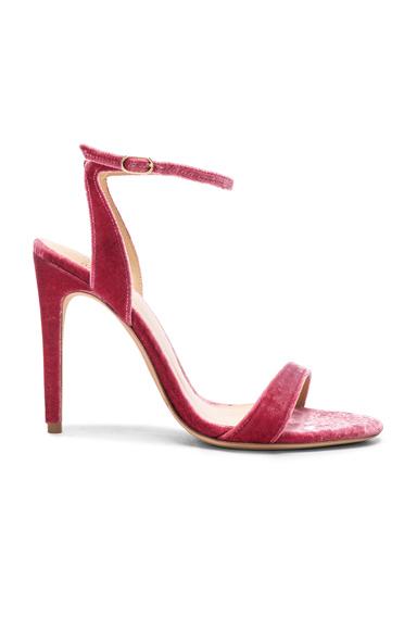 Velvet Willow Ankle Strap Sandals