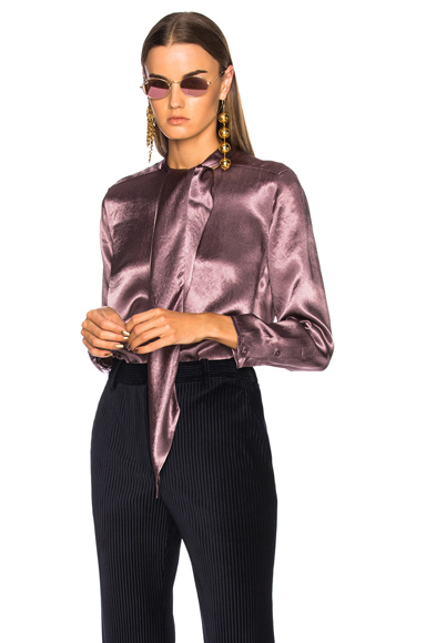 Bodil Satin Blouse
