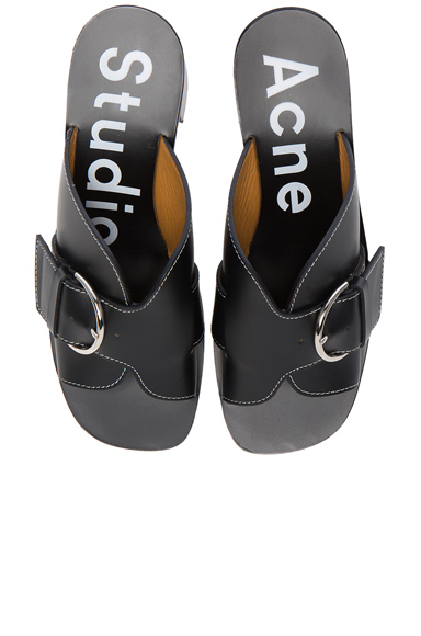 Leather Vikki Heels