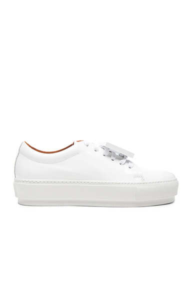 Adriana Patent Leather Sneakers
