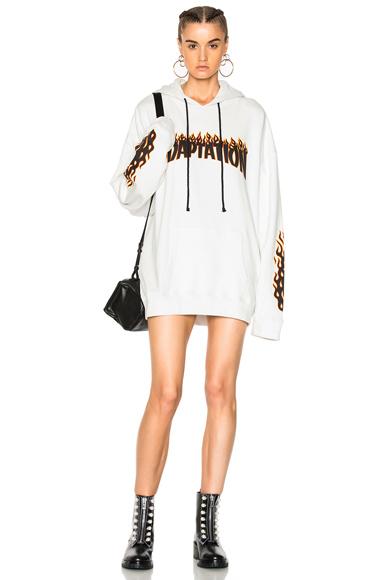 Flame Hoodie Dress