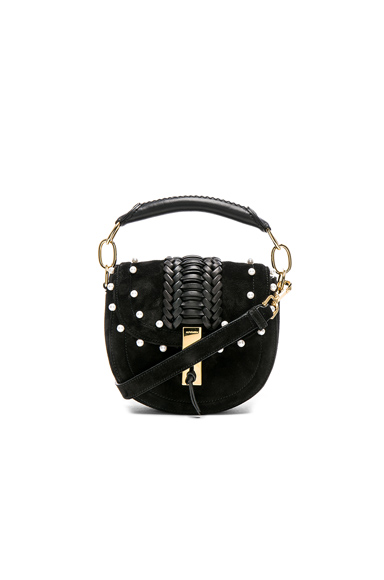 Ghianda Tubular Top Handle Mini Bag with Pearls