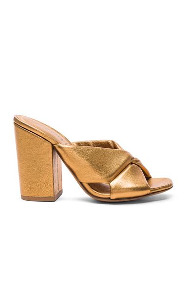 Soft X-Slide Block Heel Sandal