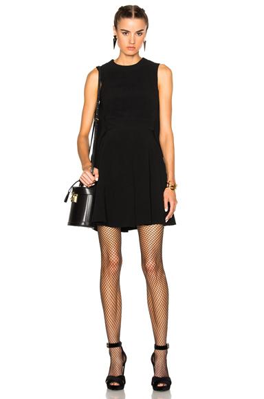 Cape Back Mini Dress