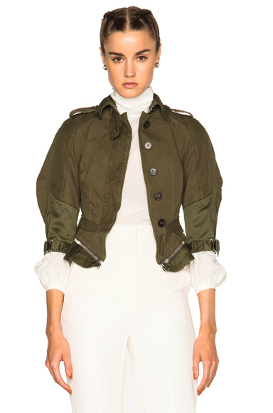 Military Peplum Jacket