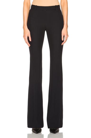 Narrow Bootcut Trousers