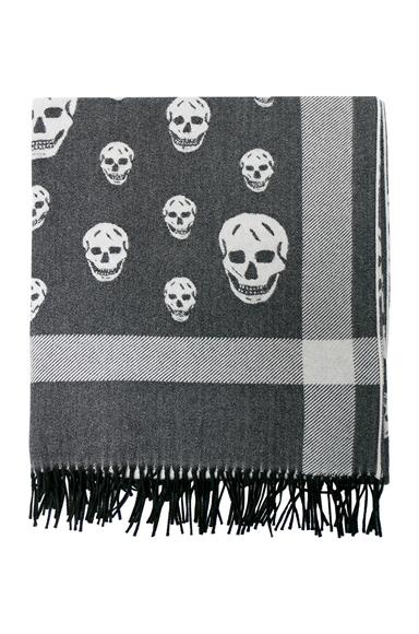 Skull Big Shawl