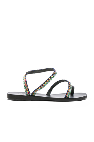 Raffia Apli Eleftheria Sandals