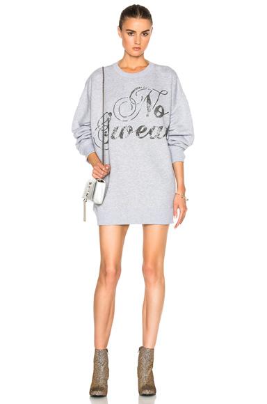 Swirly No Sweat Sweatshirt Dress