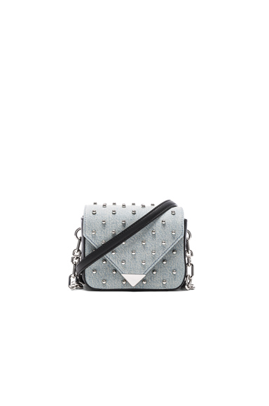 Prism Envelope Chain Studded Bag