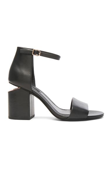 Leather Abby Heels