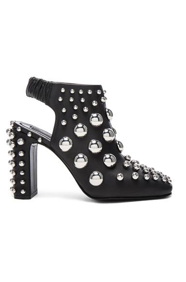 Embellished Leather Ellery Heels