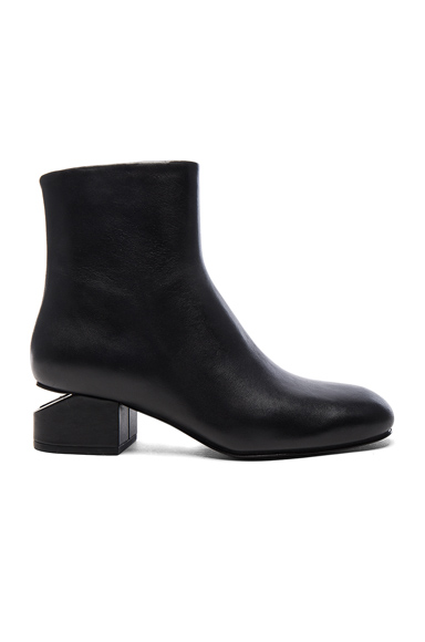 Leather Kelly Booties