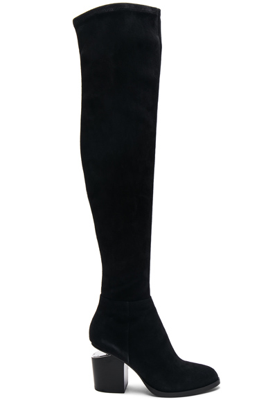 Suede Gabi Thigh High Boots