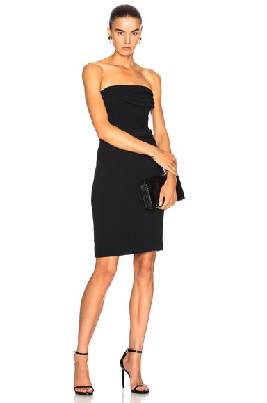 Mini Dress with Layered Petal Bodice