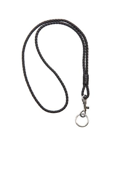 Inrecciato Nappa Leather Key Holder