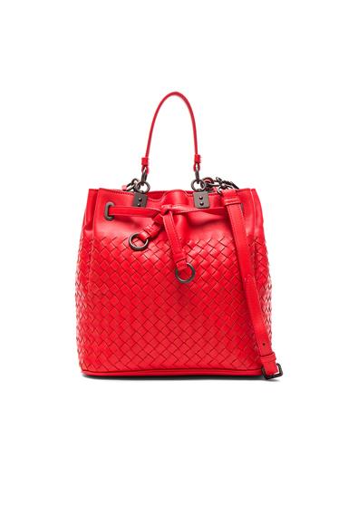 Woven Bucket Bag