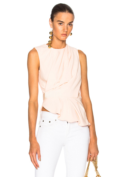 Drape Sleeveless Top