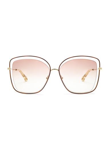 Poppy Cat Eye Sunglasses