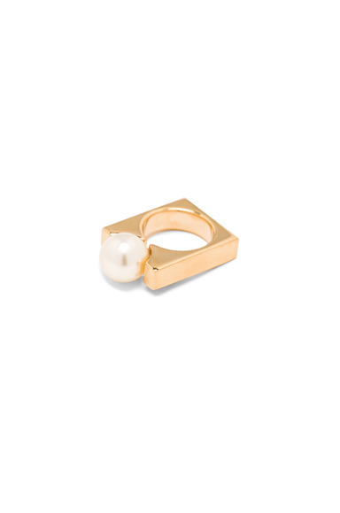 Brass Darcey Ring