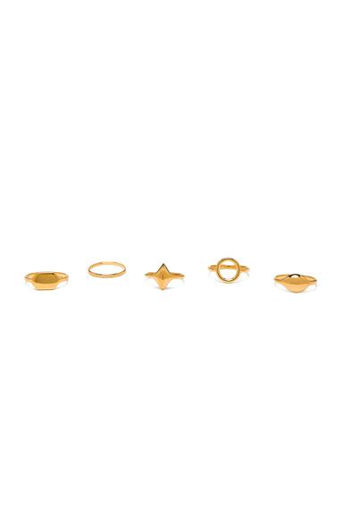 Harlow 7 Ring Set