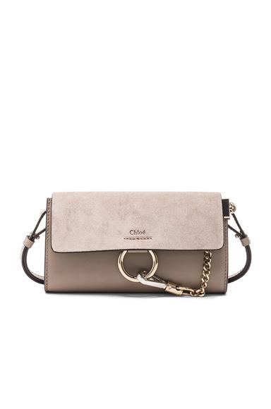 Leather Faye Strap Wallet