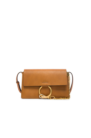 Small Leather Faye Bag