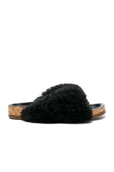 Shearling Fur Kerenn Sandals