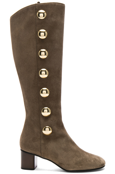 Suede Orlando Knee High Boots