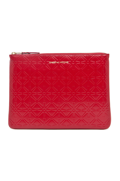 Star Embossed Pouch