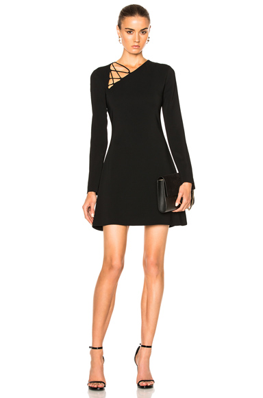 Winona Long Sleeve Fit & Flare Dress