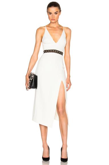 V Cut Dress