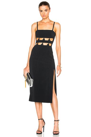 for FWRD Metal Midriff Mini Dress