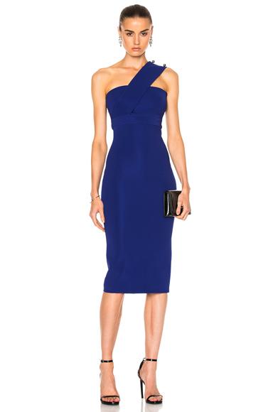 Over Shoulder Strap Pencil Dress