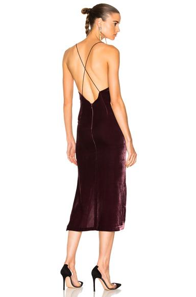 Velvet Fine Line Cami Dress