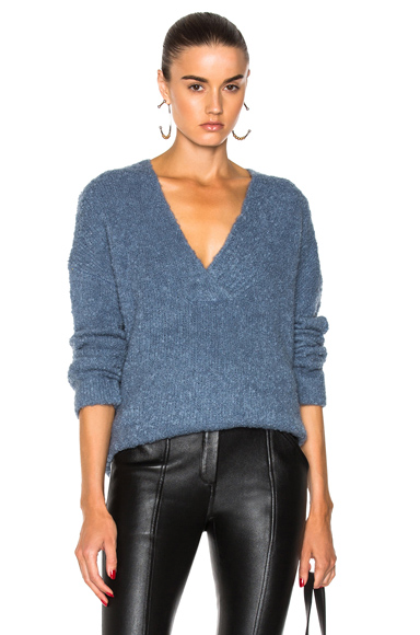 Shearling Boucle Sweater