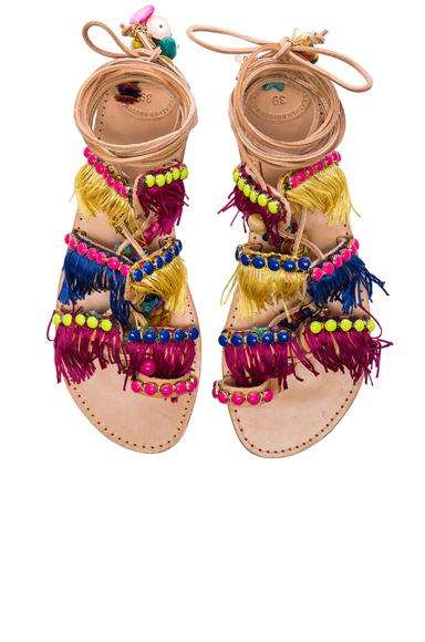 Leather Tahiti Sandals