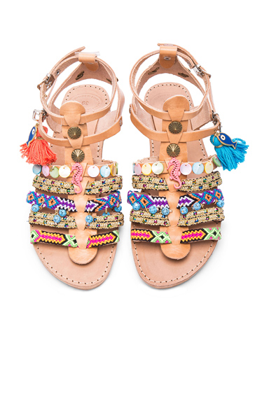 Saltwater Leather Sandals