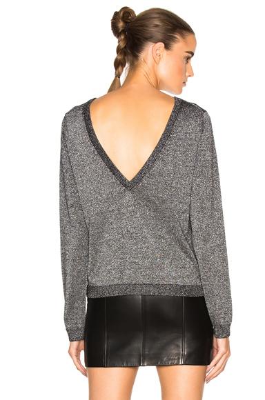 Calais V-Back Sweater