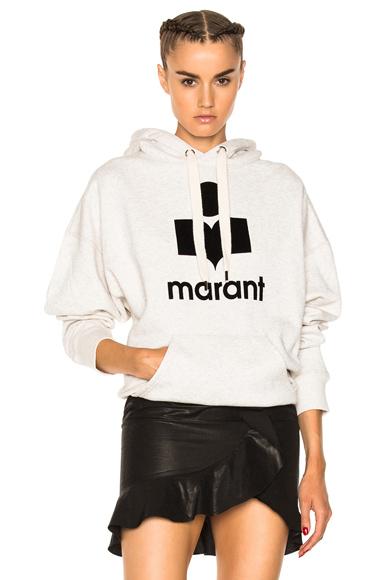 Mansel Marant Hooded Sweatshirt