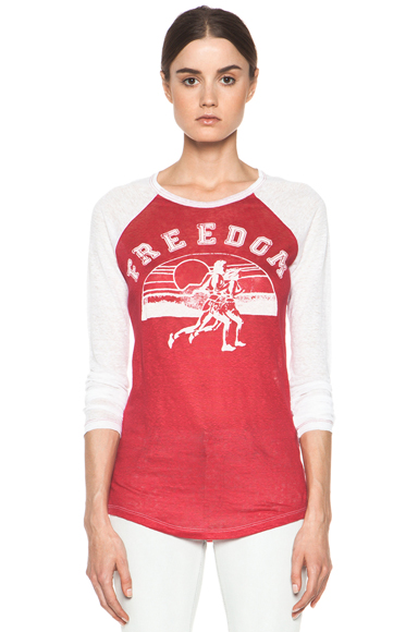 Reed Freedom Linen Tee Shirt
