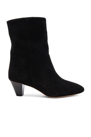 Dyna New Velvet Booties
