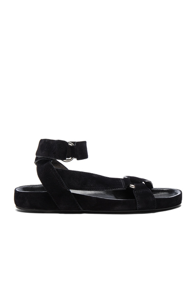 Suede Loatis Easy Chic Sandals