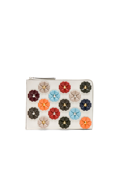 Embellished Large Flat Clutch
