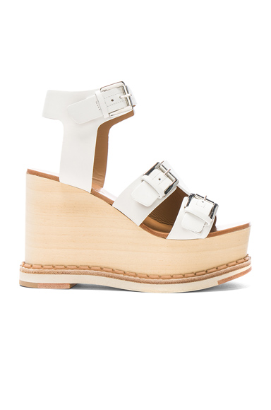 Leather Holly Wedges