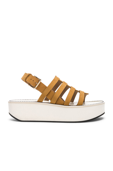 Nubuck Leather Negrita Sandals